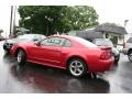 2001 Laser Red Metallic Ford Mustang GT Coupe  photo #5
