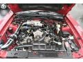 2001 Laser Red Metallic Ford Mustang GT Coupe  photo #9