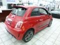 2017 500 Abarth Rosso (Red)