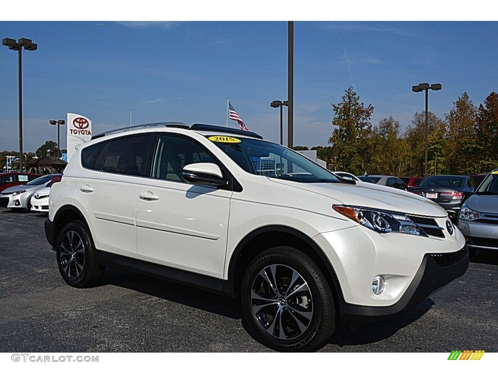 2015 blizzard pearl toyota rav4 limited awd 116783606 photo 6 car color galleries. Black Bedroom Furniture Sets. Home Design Ideas