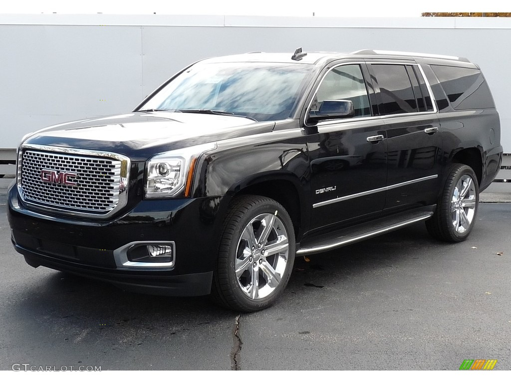 2017 Onyx Black GMC Yukon XL Denali 4WD #116806231 | GTCarLot.com - Car Color Galleries