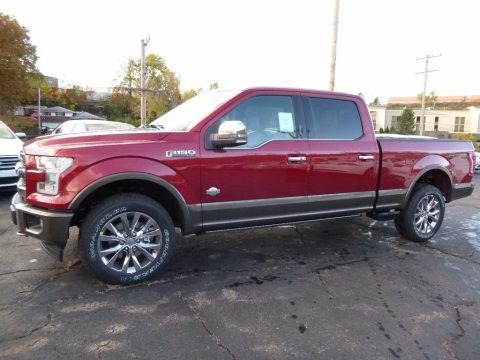 2017 Ford F150 King Ranch SuperCrew 4x4 Data, Info and Specs