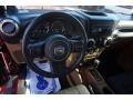2012 Deep Cherry Red Crystal Pearl Jeep Wrangler Sahara 4x4  photo #10