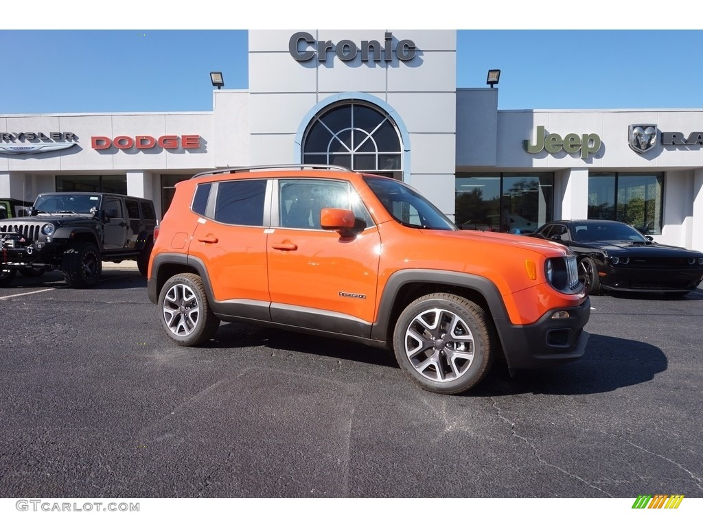Jeep Renegade Orange >> 2017 Omaha Orange Jeep Renegade Latitude 116806093