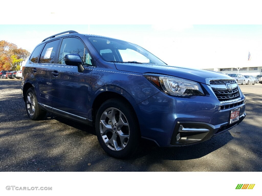 Quartz Blue Pearl Subaru Forester