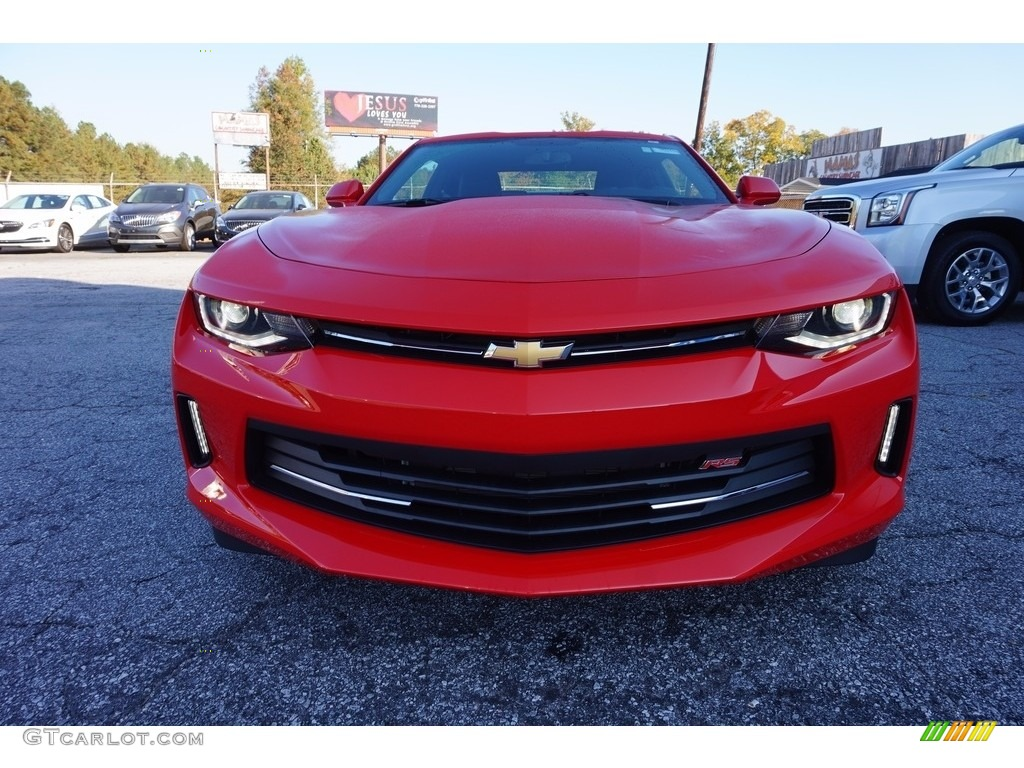 2017 red hot chevrolet camaro lt coupe 116806154 photo 2 car color galleries. Black Bedroom Furniture Sets. Home Design Ideas
