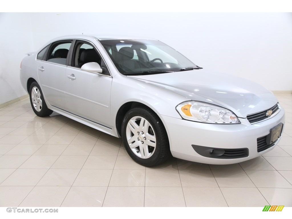 2011 silver ice metallic chevrolet impala lt 116806268 car color galleries. Black Bedroom Furniture Sets. Home Design Ideas