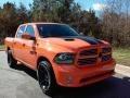 2017 Ignition Orange Ram 1500 Sport Crew Cab 4x4 #116805854