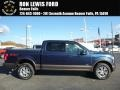 Blue Jeans Metallic 2015 Ford F150 Lariat SuperCrew 4x4