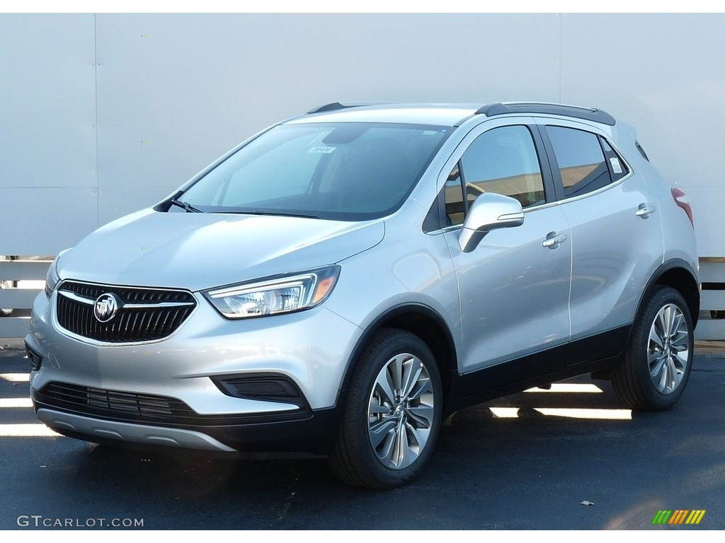 2017 Quicksilver Metallic Buick Encore Preferred 116806247 Car Color Galleries