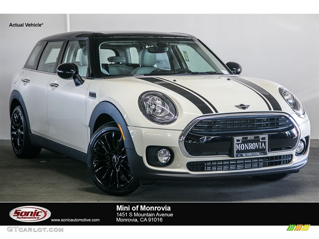 Pepper White Mini Clubman Cooper