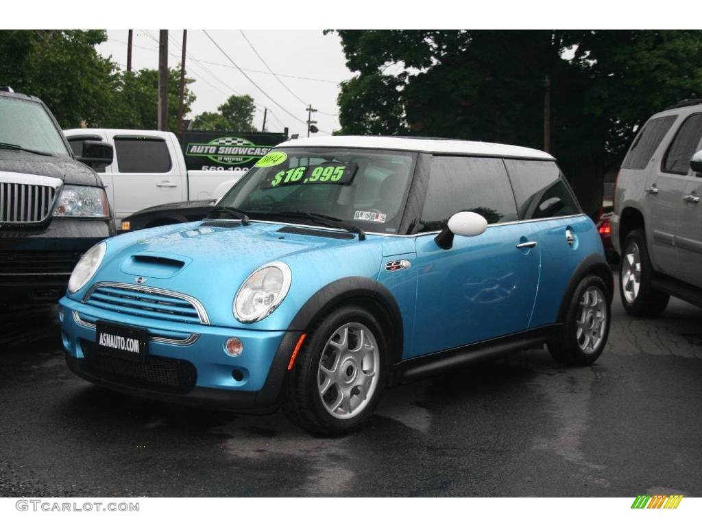 2004 electric blue metallic mini cooper s hardtop 11669615 car color galleries. Black Bedroom Furniture Sets. Home Design Ideas