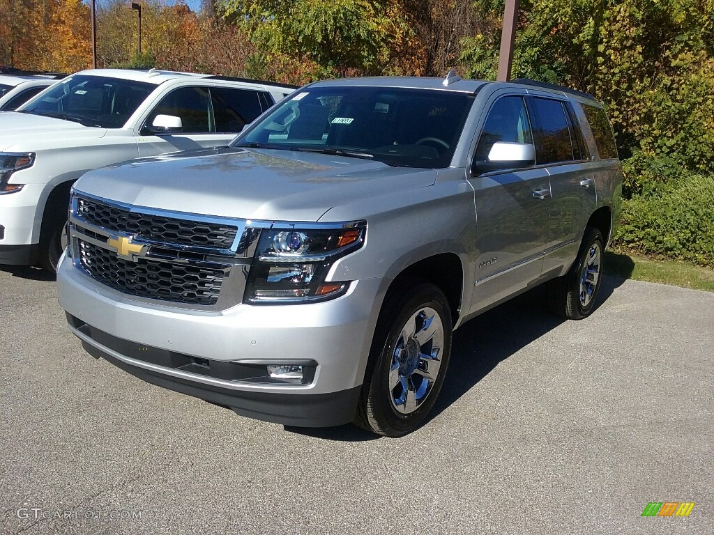 2017 silver ice metallic chevrolet tahoe lt 4wd 116847090 photo 4 car color. Black Bedroom Furniture Sets. Home Design Ideas
