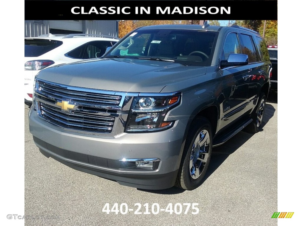 2017 Pepperdust Metallic Chevrolet Tahoe Premier 4wd 116847082