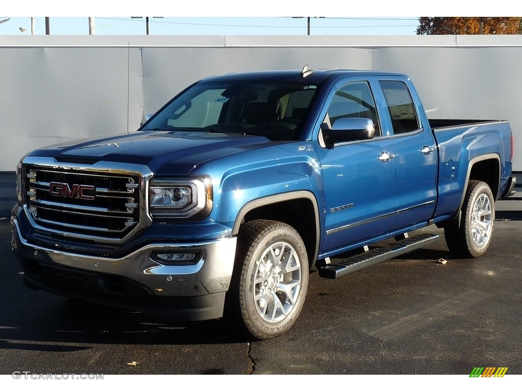 Stone Blue Metallic Gmc Sierra 1500