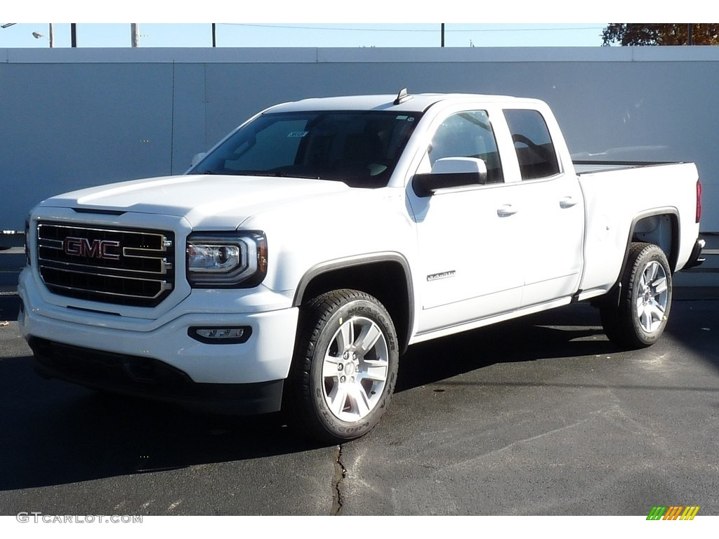 2017 Sierra 1500 Elevation Edition Double Cab 4wd Summit White Dark Ash Jet