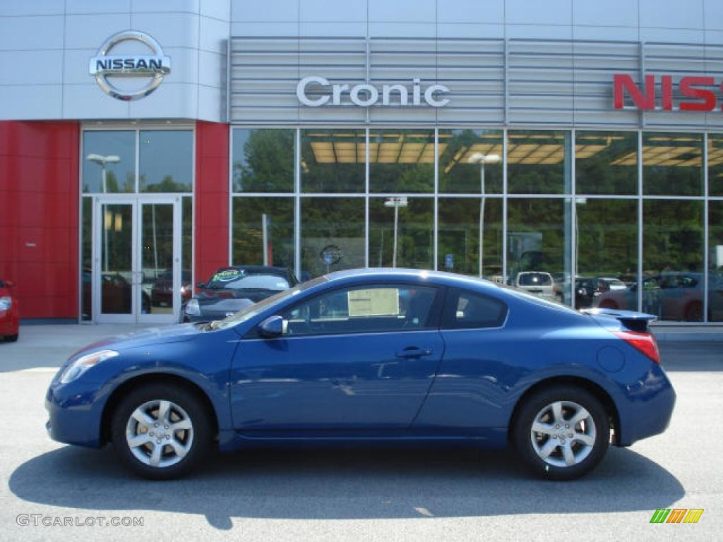 2008 Azure Blue Metallic Nissan Altima 25 S Coupe 11668779