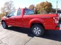 2016 Race Red Ford F150 XL SuperCab 4x4  photo #3