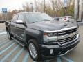 Pepperdust Metallic 2017 Chevrolet Silverado 1500 High Country Crew Cab 4x4 Exterior
