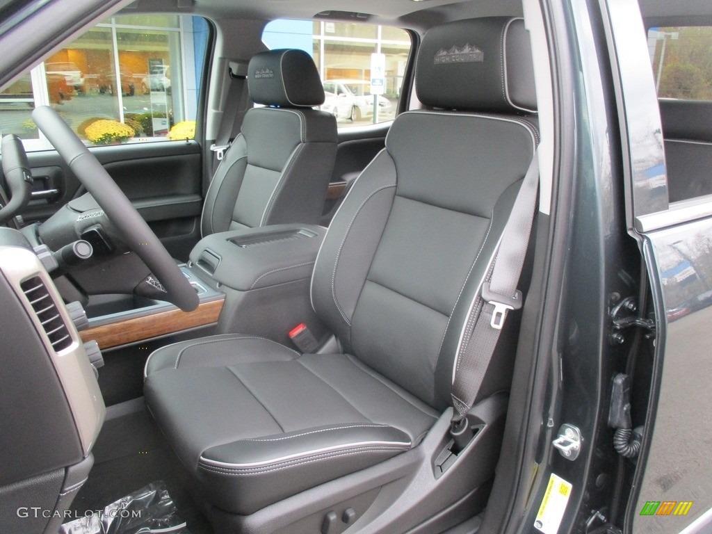 2017 Chevrolet Silverado 1500 High Country Crew Cab 4x4 Front Seat Photo #116880563