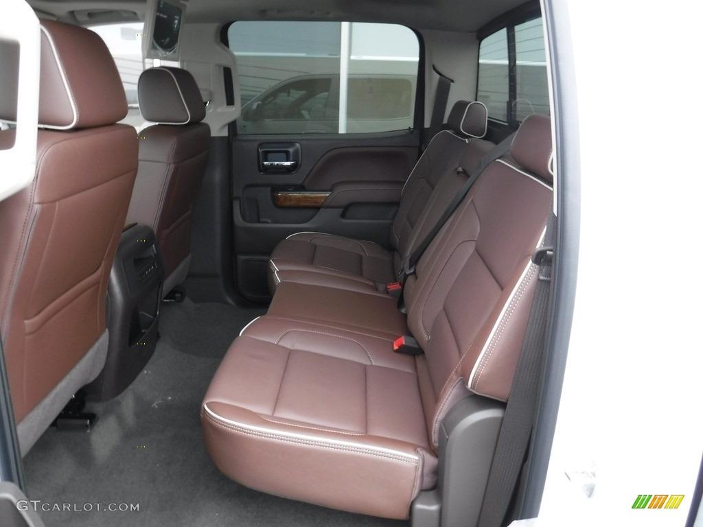 2017 Chevrolet Silverado 1500 High Country Crew Cab 4x4 Rear Seat Photo #116893364