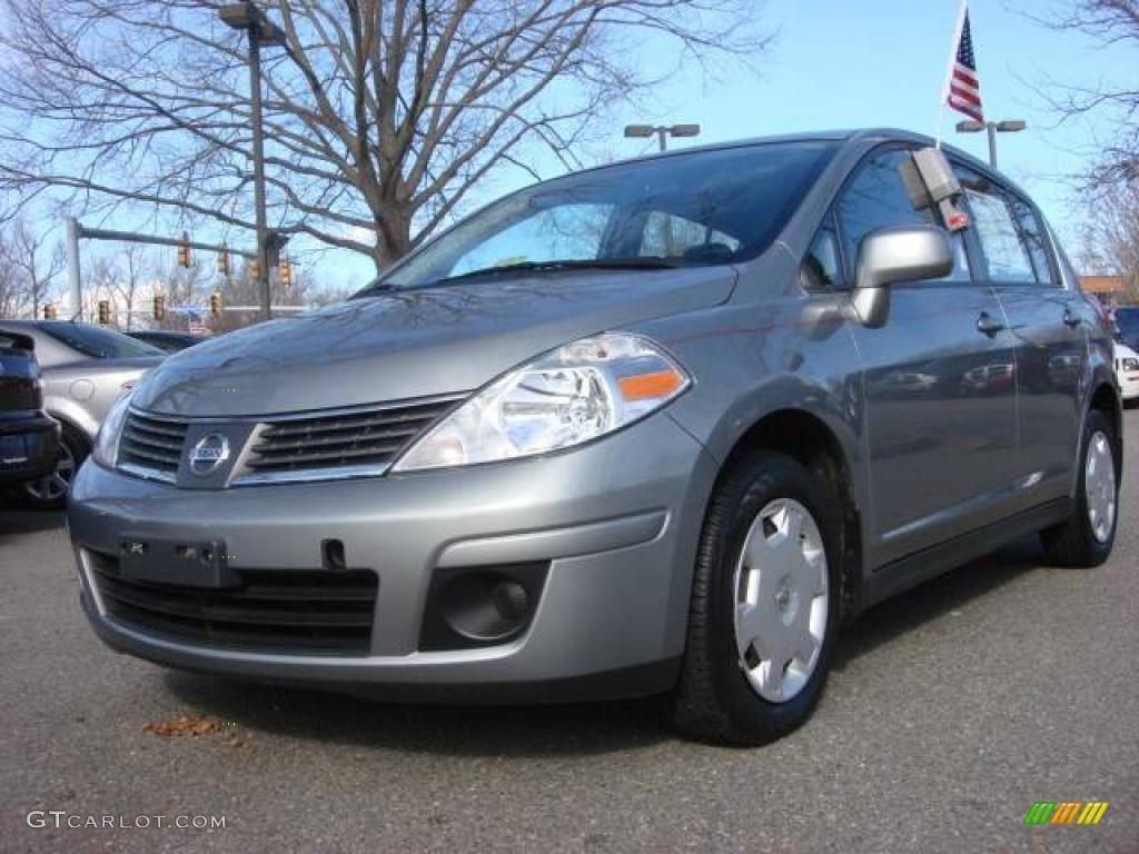2008 magnetic gray nissan versa 1 8 s hatchback 11659625. Black Bedroom Furniture Sets. Home Design Ideas