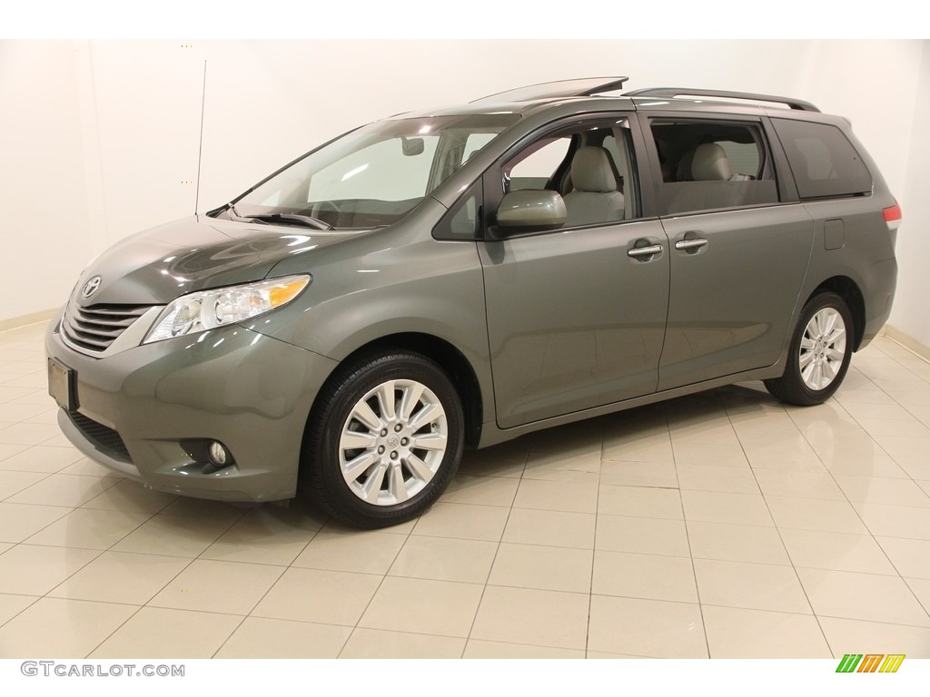 2014 cypress green pearl toyota sienna xle awd 116898902 car color galleries. Black Bedroom Furniture Sets. Home Design Ideas