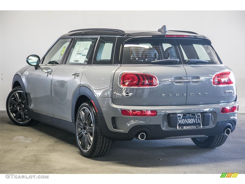 Car Paint Colors >> 2017 Moonwalk Grey Metallic Mini Clubman Cooper S #116898848 Photo #3 | GTCarLot.com - Car Color ...