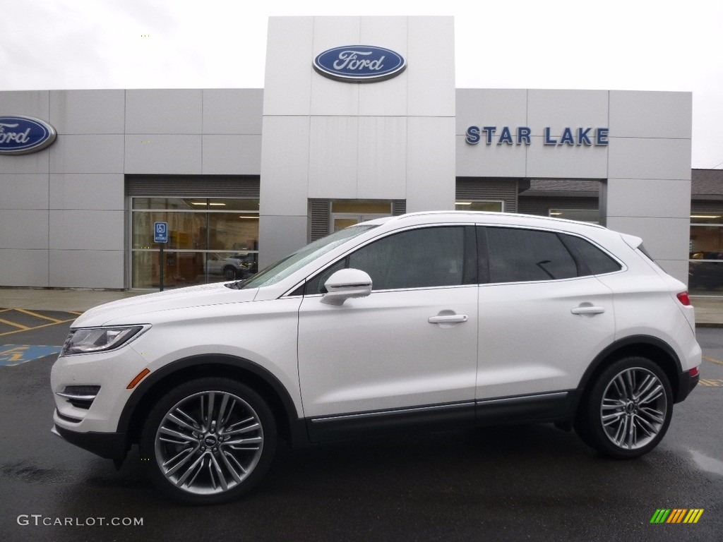 White Platinum Metallic Tri-coat Lincoln MKC