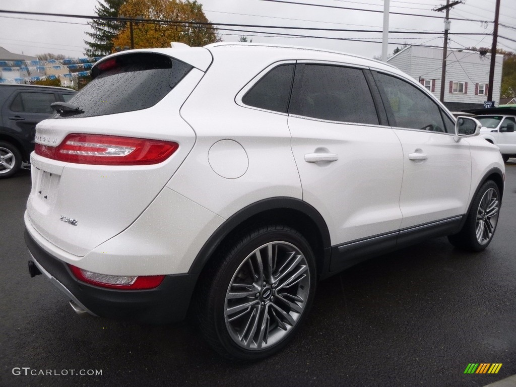 2015 MKC AWD - White Platinum Metallic Tri-coat / Ebony photo #5