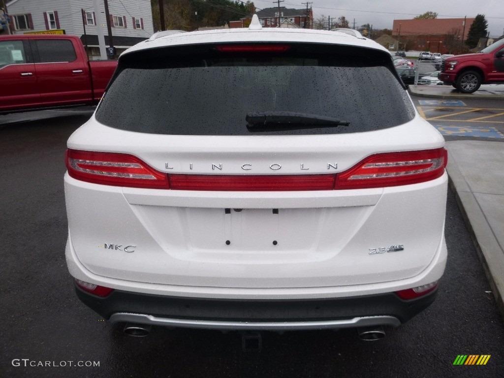 2015 MKC AWD - White Platinum Metallic Tri-coat / Ebony photo #6