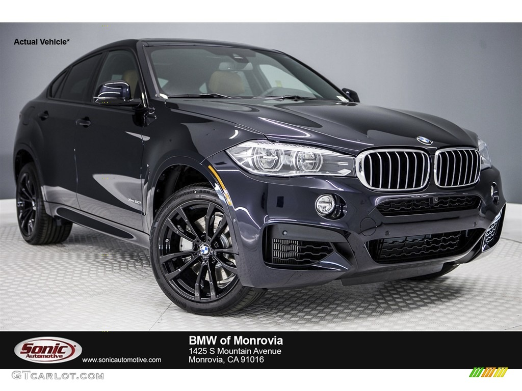 Carbon Black Metallic BMW X6 XDrive50i