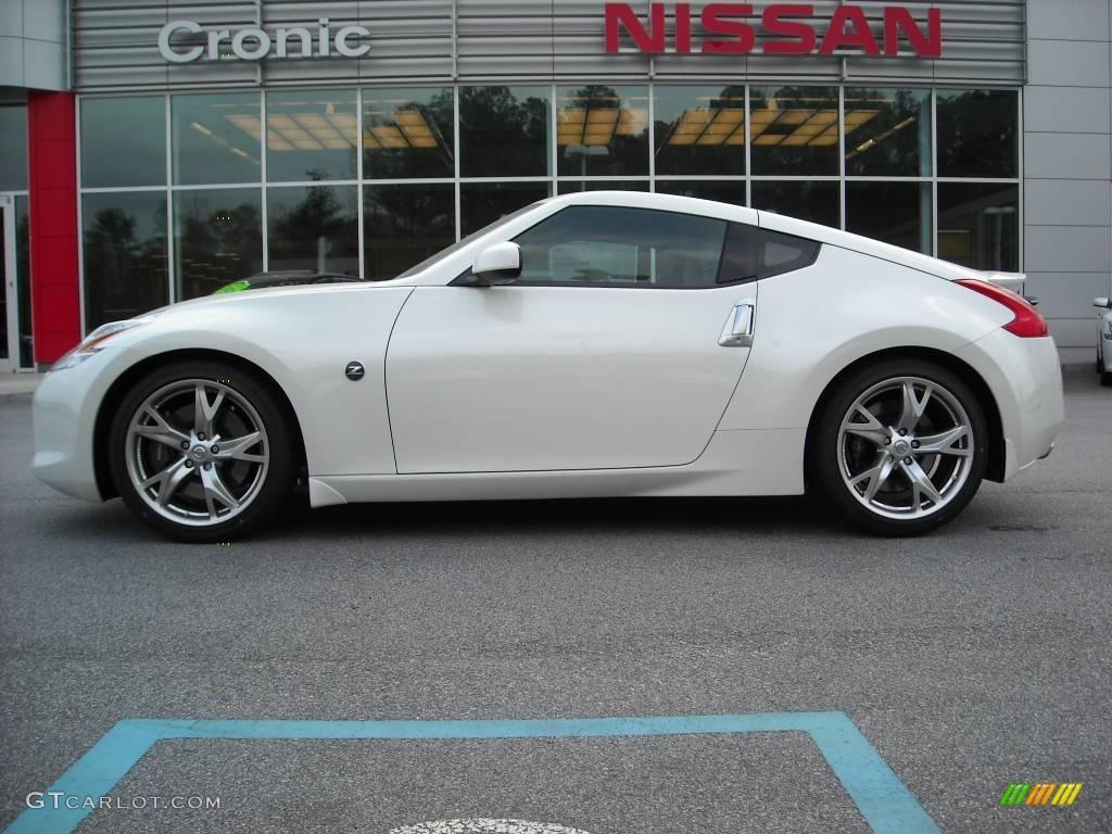 2009 pearl white nissan 370z sport touring coupe 11668868 gtcarlot com car color galleries