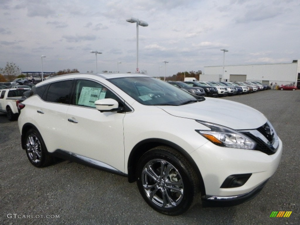 2017 pearl white nissan murano platinum awd 116898920 car color galleries. Black Bedroom Furniture Sets. Home Design Ideas