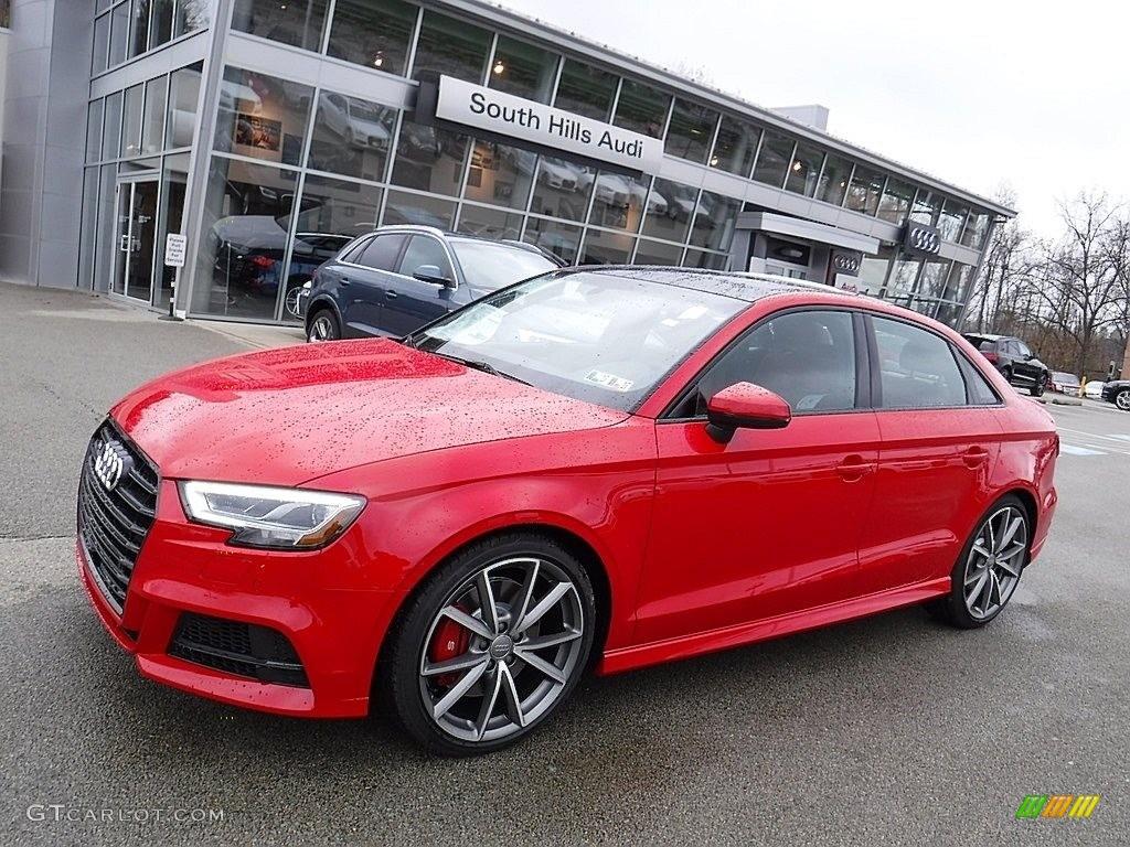 2017 Tango Red Metallic Audi S3 2 0t Premium Plus Quattro