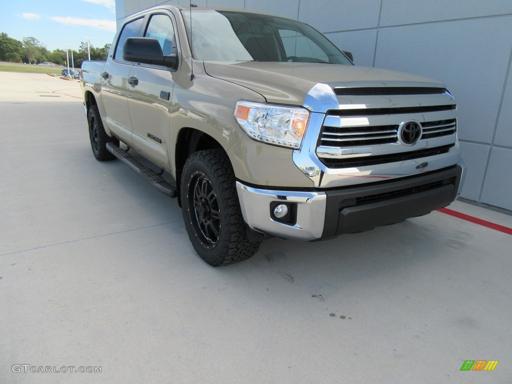 2017 Tundra Sr5 Tss Off Road Crewmax Quicksand Black Photo 1