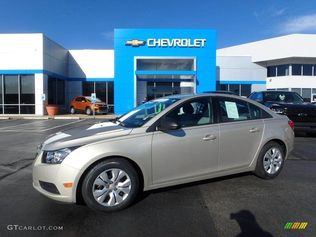 2014 Champagne Silver Metallic Chevrolet Cruze Ls 116919745 Photo 30 Car
