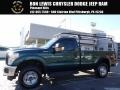 2011 Forest Green Metallic Ford F250 Super Duty XL Regular Cab 4x4 #116919847