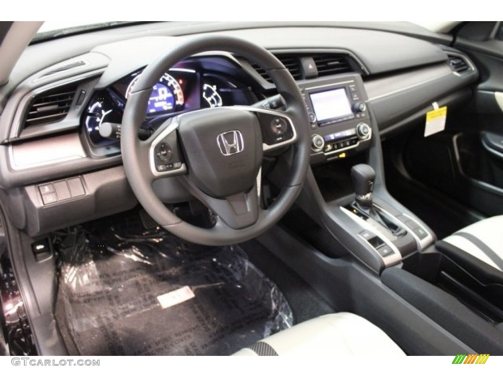 2017 Burgundy Night Pearl Honda Civic Lx Sedan 116919637