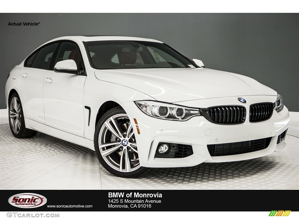 Alpine White BMW 4 Series 440i Gran Coupe