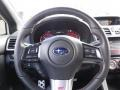 Carbon Black Steering Wheel Photo for 2016 Subaru WRX #116954365