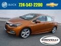 Orange Burst Metallic 2017 Chevrolet Cruze Premier