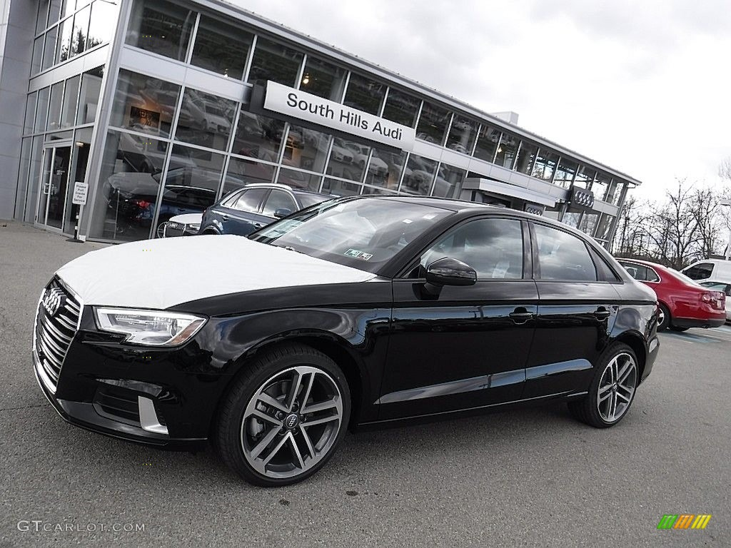 Brilliant Black Audi A3