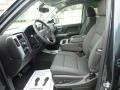 Jet Black Interior Photo for 2017 Chevrolet Silverado 1500 #116959090
