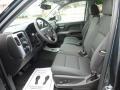 Jet Black Front Seat Photo for 2017 Chevrolet Silverado 1500 #116959147