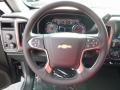 Jet Black Steering Wheel Photo for 2017 Chevrolet Silverado 1500 #116975320