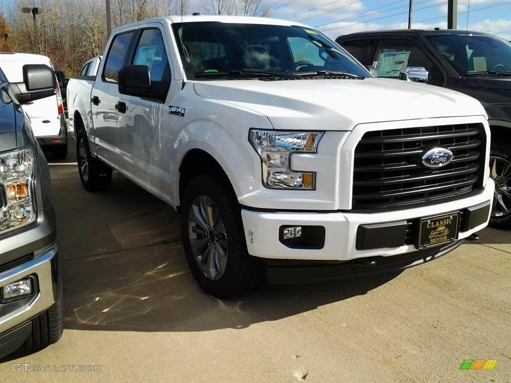 2017 oxford white ford f150 xl supercrew 4x4 116978547 car color galleries. Black Bedroom Furniture Sets. Home Design Ideas