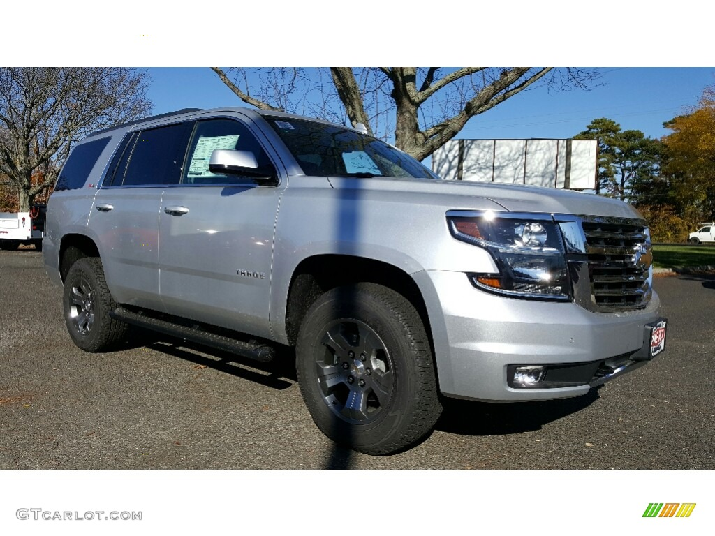 2017 silver ice metallic chevrolet tahoe lt 4wd 116978455 car color galleries. Black Bedroom Furniture Sets. Home Design Ideas