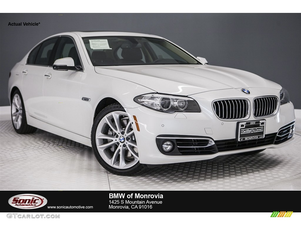 2014 Mineral White Metallic Bmw 5 Series 535i Sedan 116978512