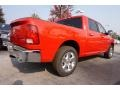 Flame Red - 1500 Big Horn Crew Cab Photo No. 3